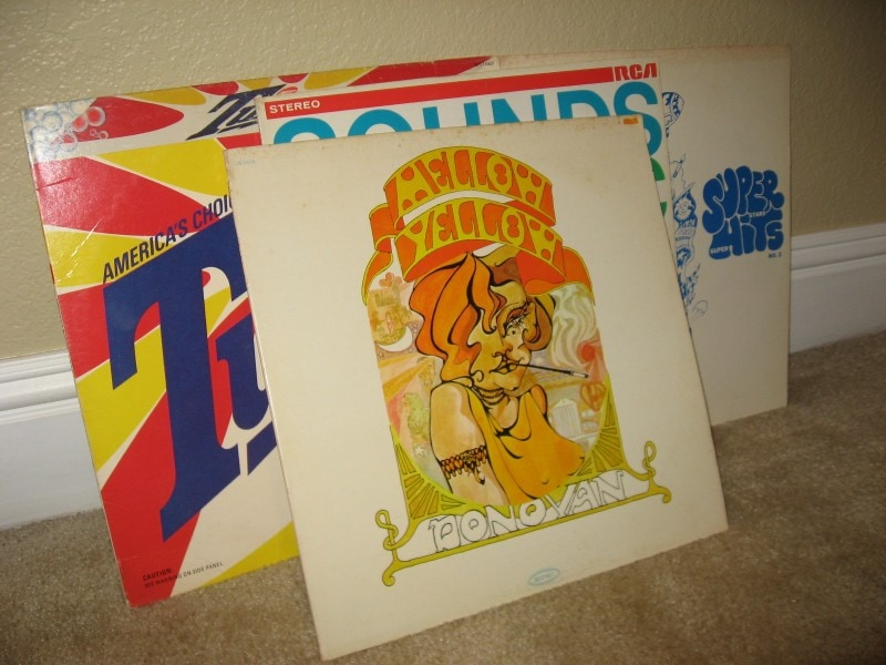 Trash to Treasure: Record Album Art