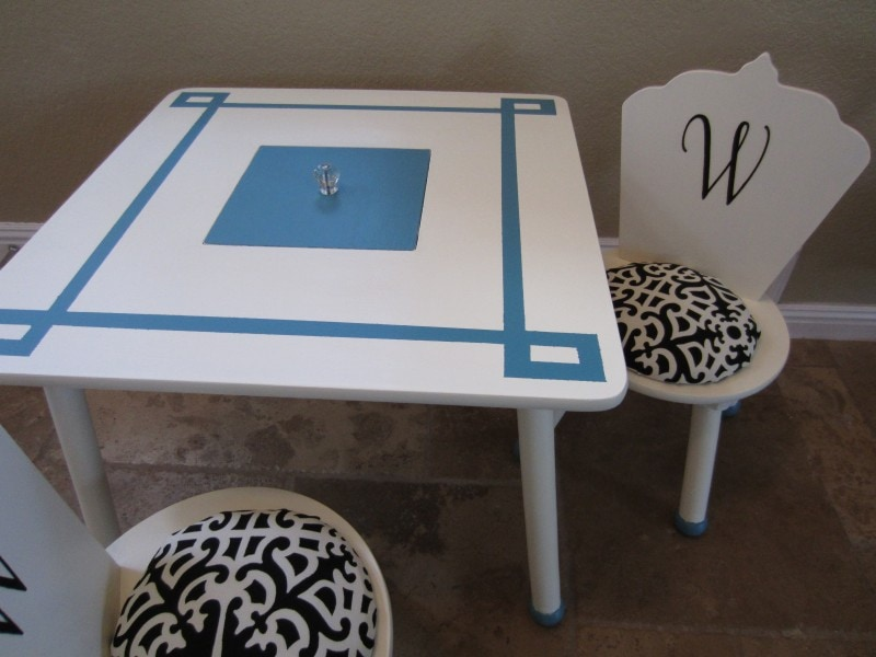 Upcycled Children's Play Table