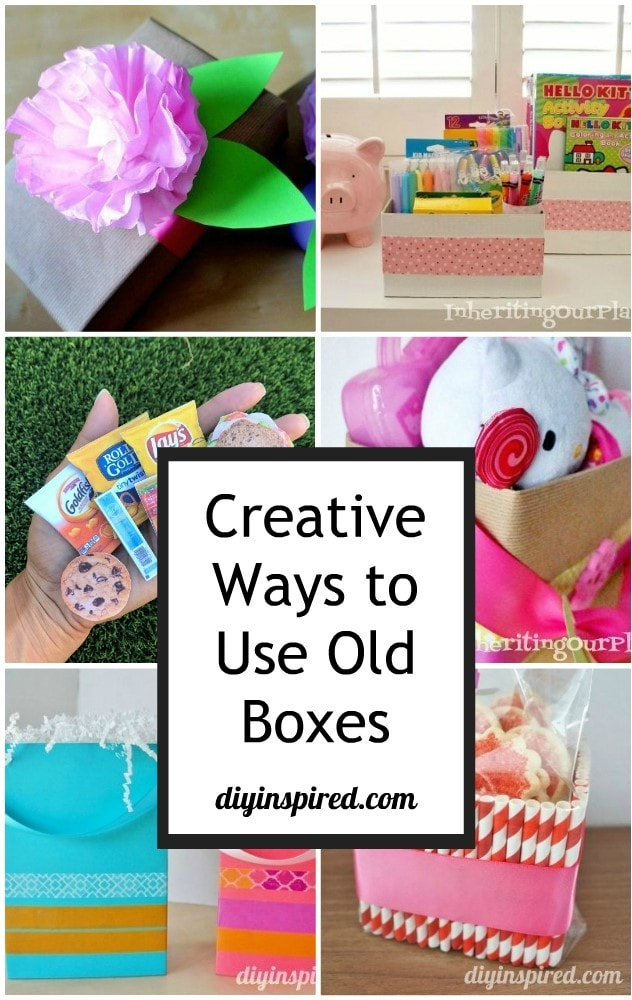 Creative Ways to Use Old Boxes