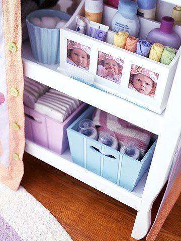 Repurposed Kid's Storage Solutions