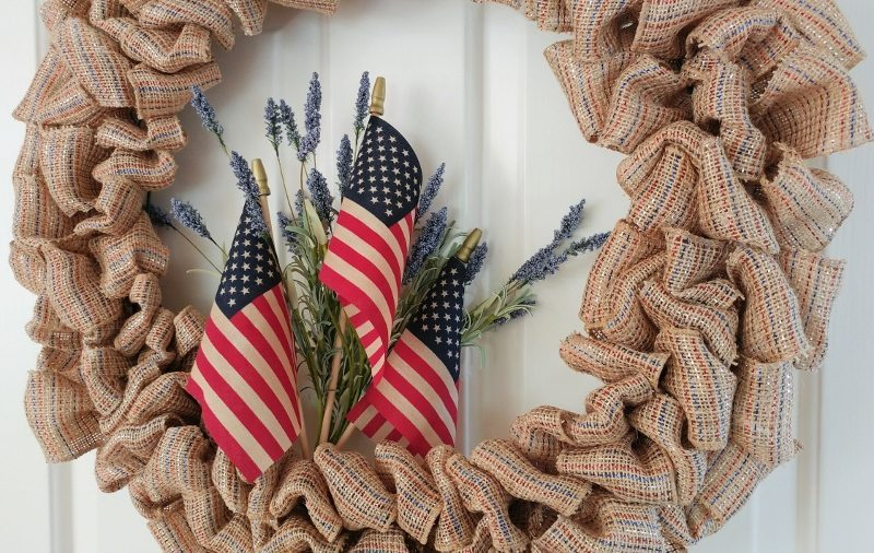 DIY-Fourth-of-July-Ribbon-Wreath