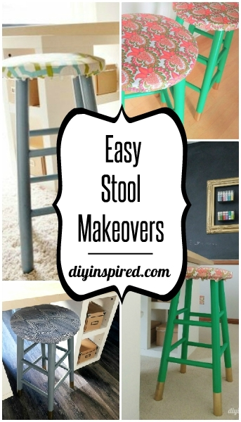 Easy Stool Makeovers