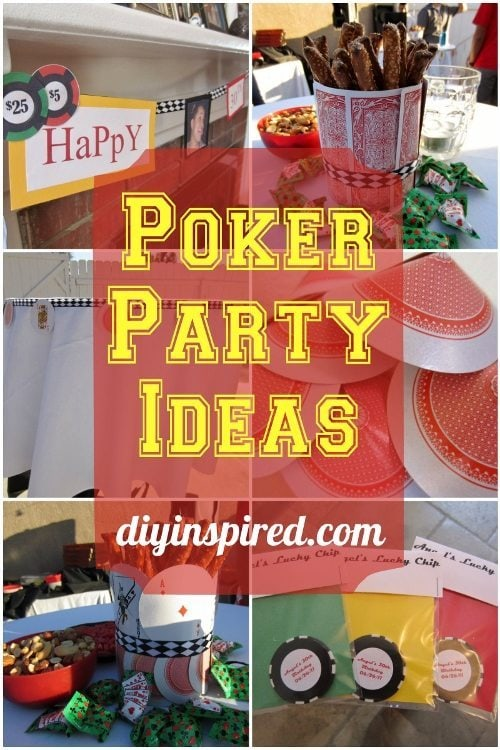 Poker Party Ideas DIY Inspired