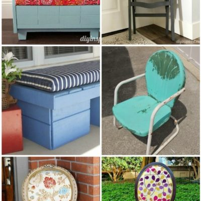 Upcycled Seating Ideas - DIY Inspired