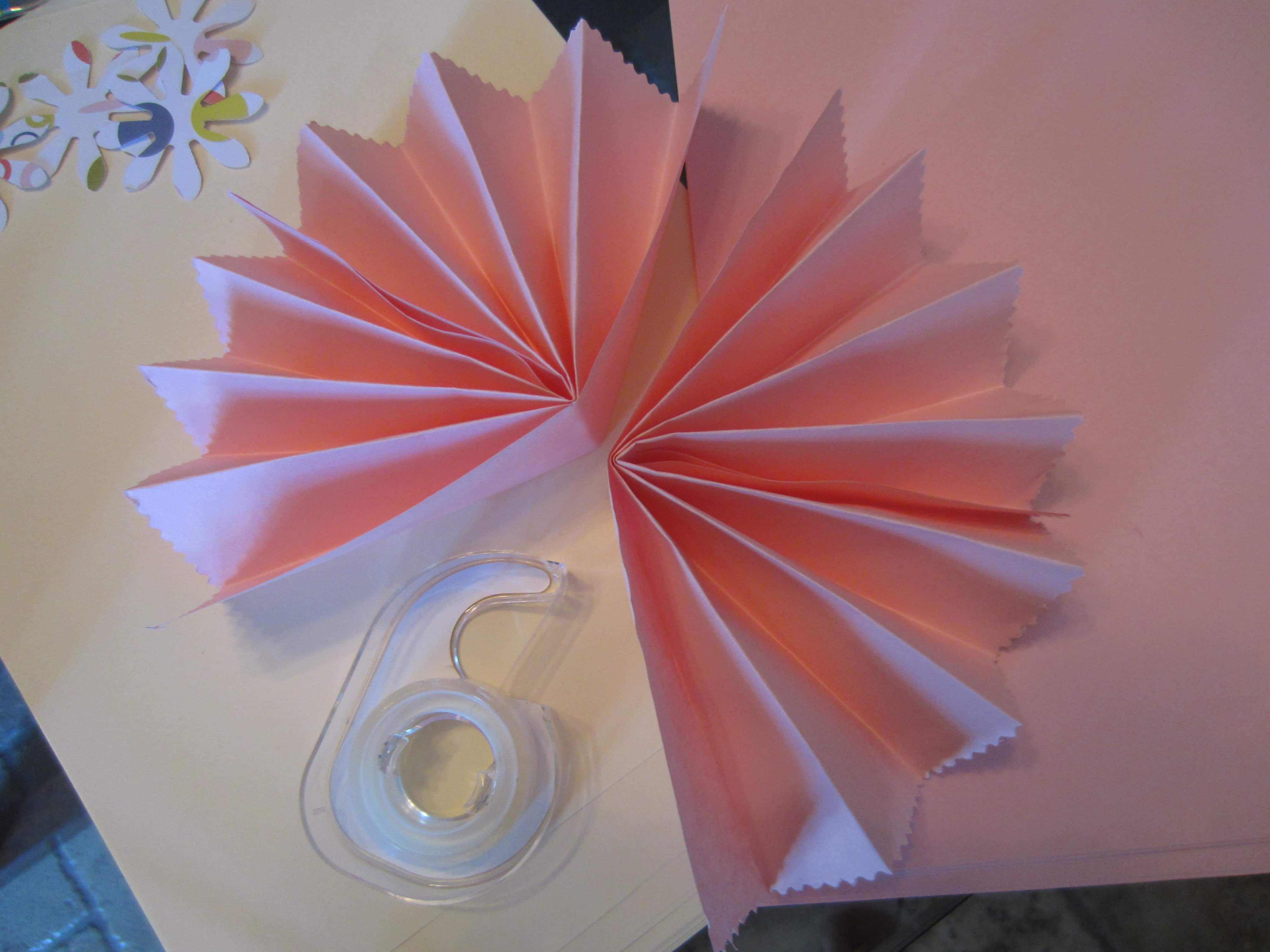 Accordion Flowers How To Diy Inspired