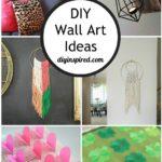 DIY Creative Wall Art Ideas