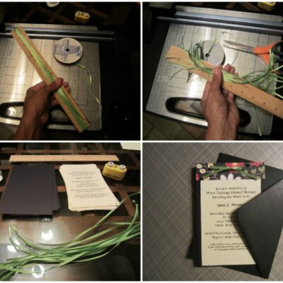 Easy DIY Invitations