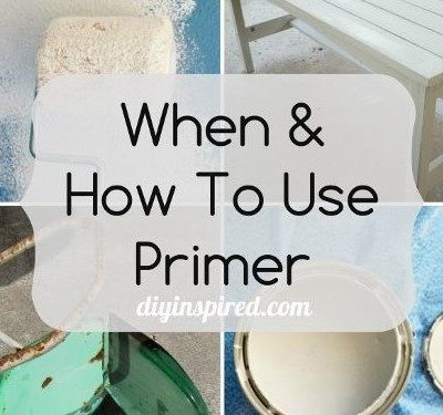 When and How to Use Primer