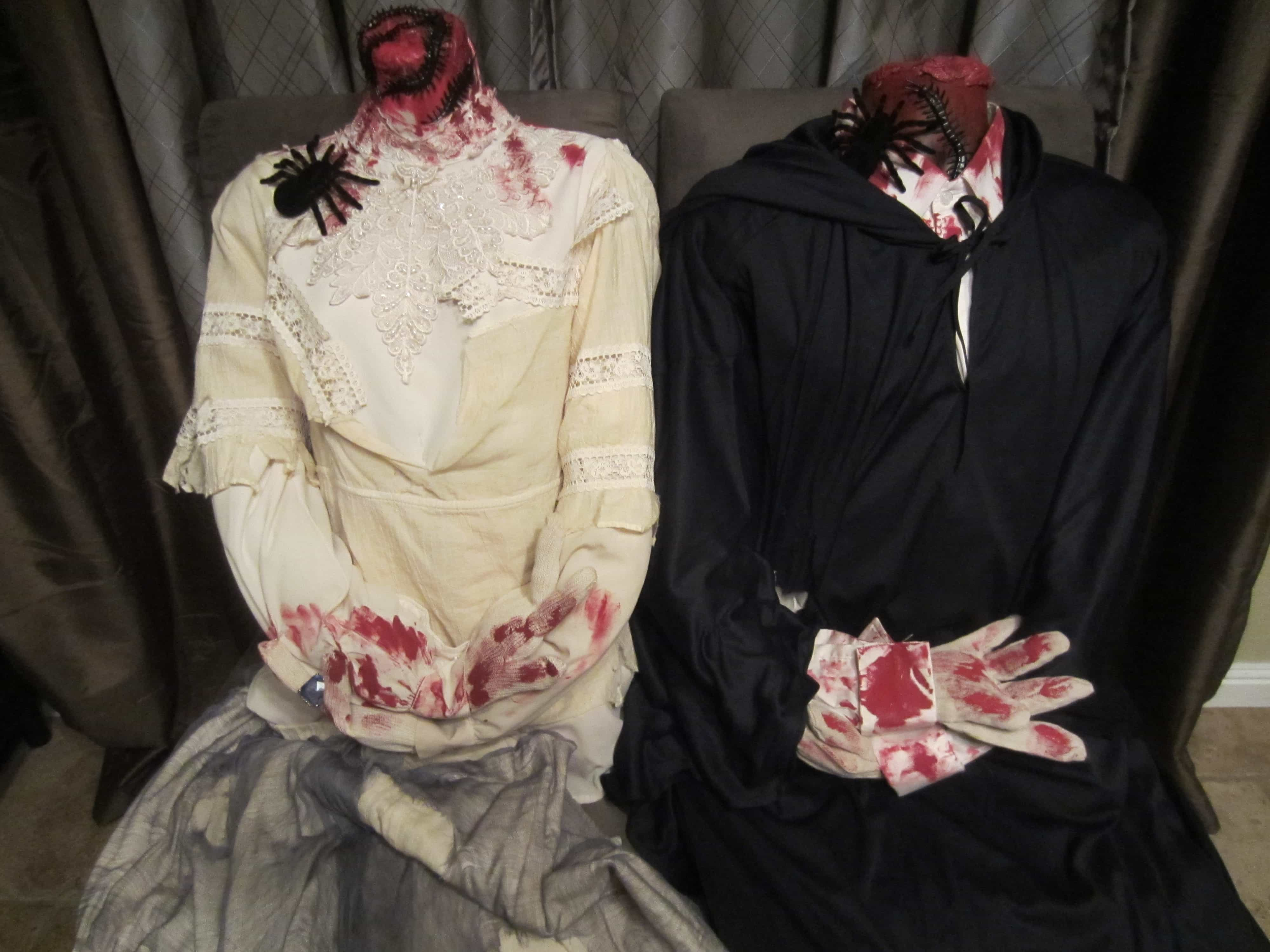 Headless Man and Headless Woman Costumes