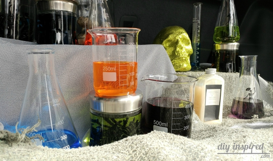 Mad Scientist Decorations for Halloween