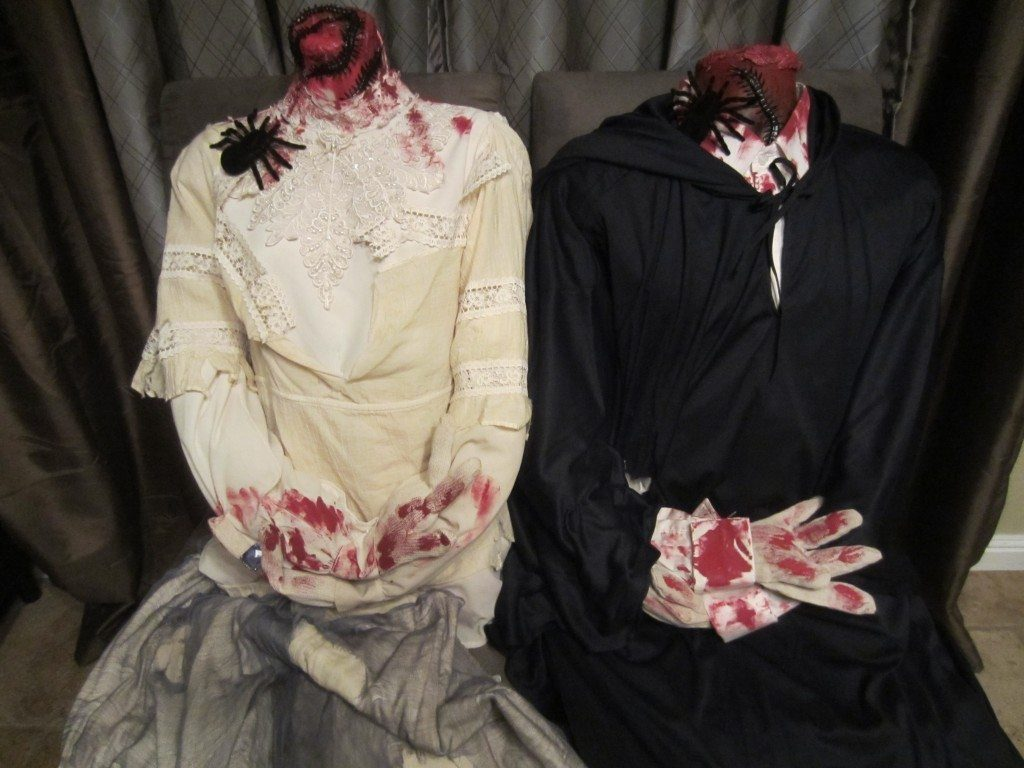 How to Tea Stain Old Clothes for Halloween Costumes