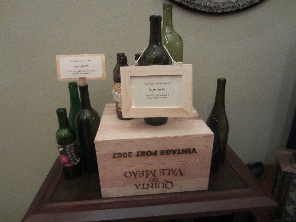 Trivia Wine Bottle