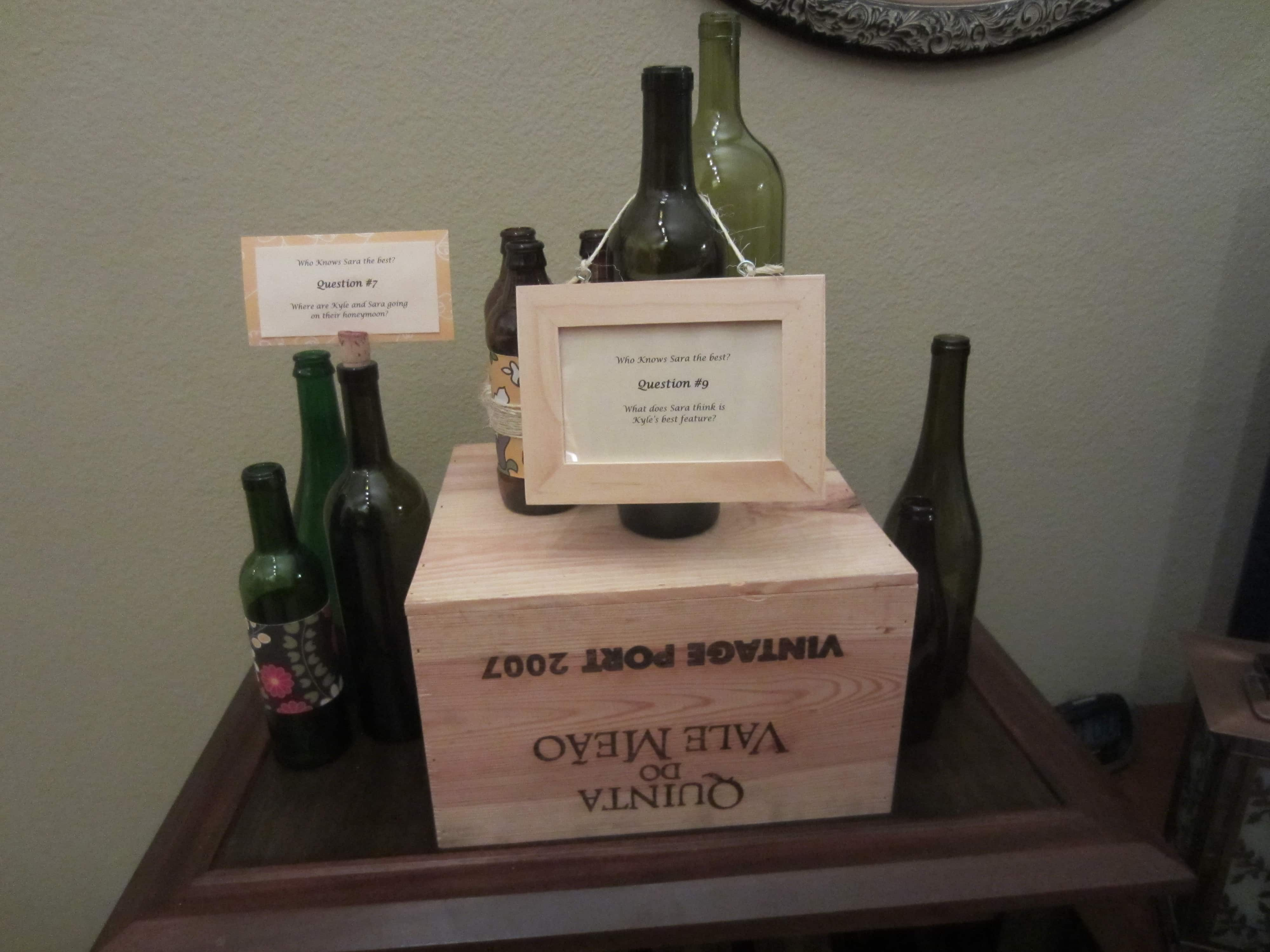 Wine Bottle Frames