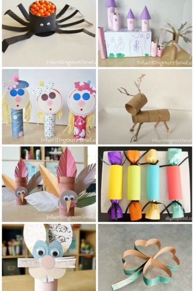 Crafting with Cardboard Tubes