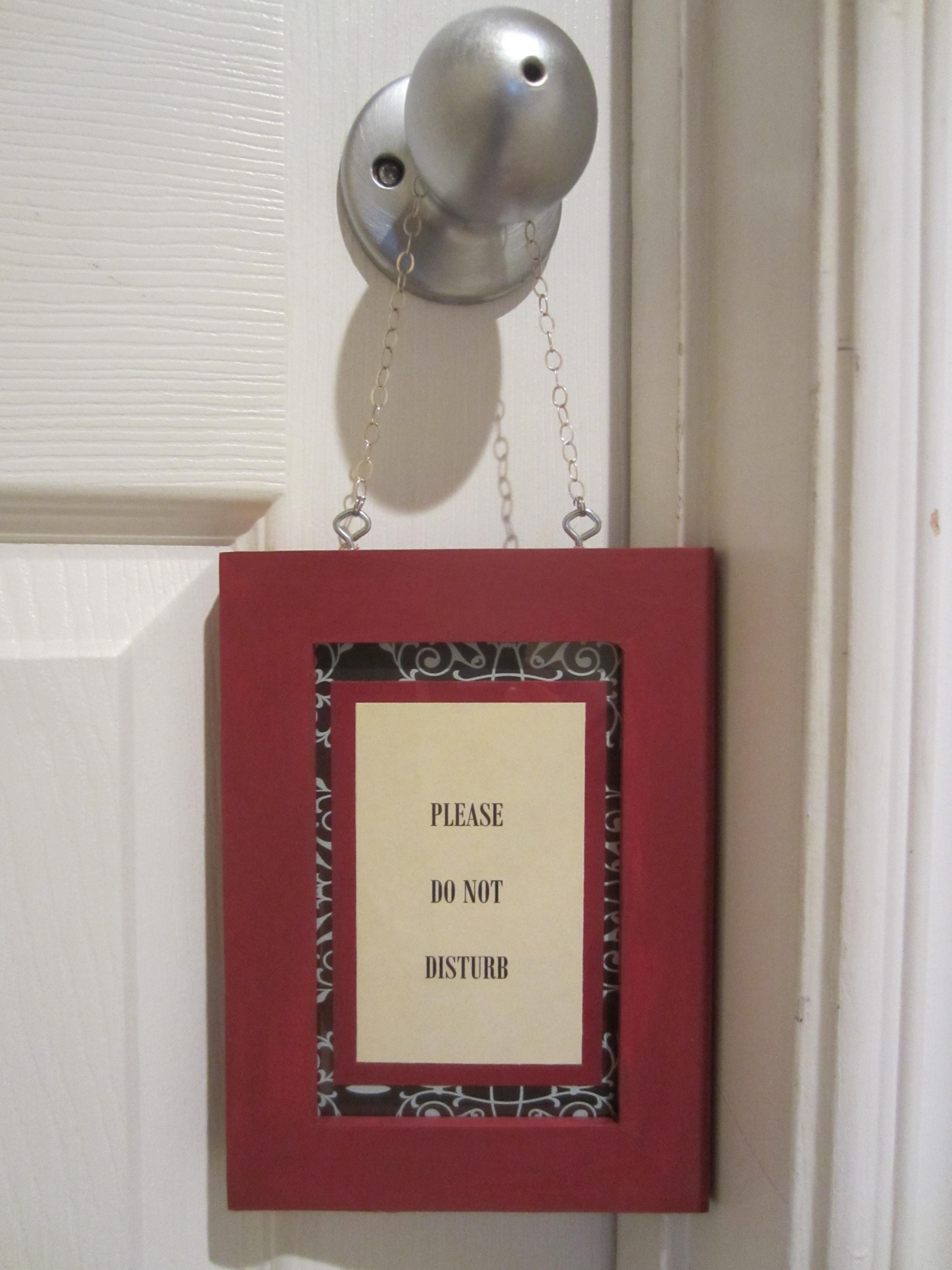 Diy Door Hanger Diy Inspired
