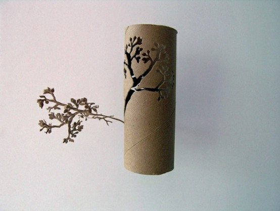 Crafting With Toilet Paper Rolls Diy Inspired