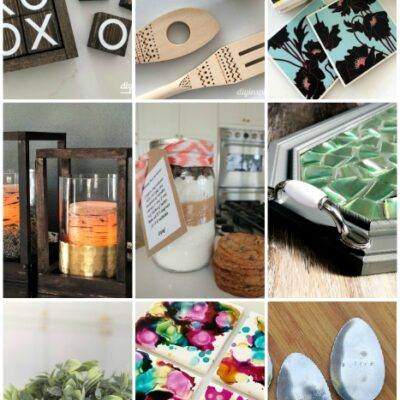 DIY Gift Ideas for Everyone on Your List