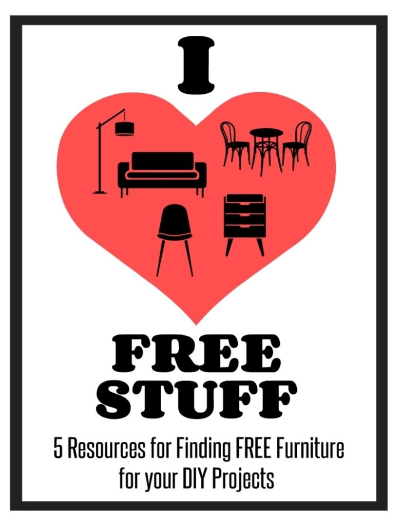5 Resources for Finding Free Furniture for Your DIY Projects