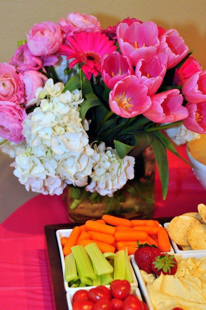 Pink Party Flower Arrangement