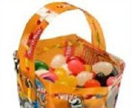 Recycled Candy Wrapper Easter Basket