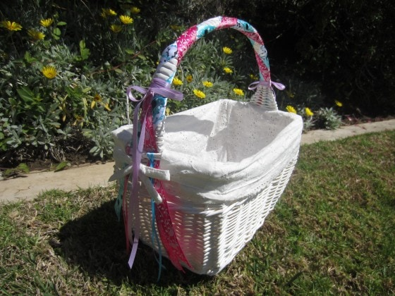 Easy Easter Basket Update