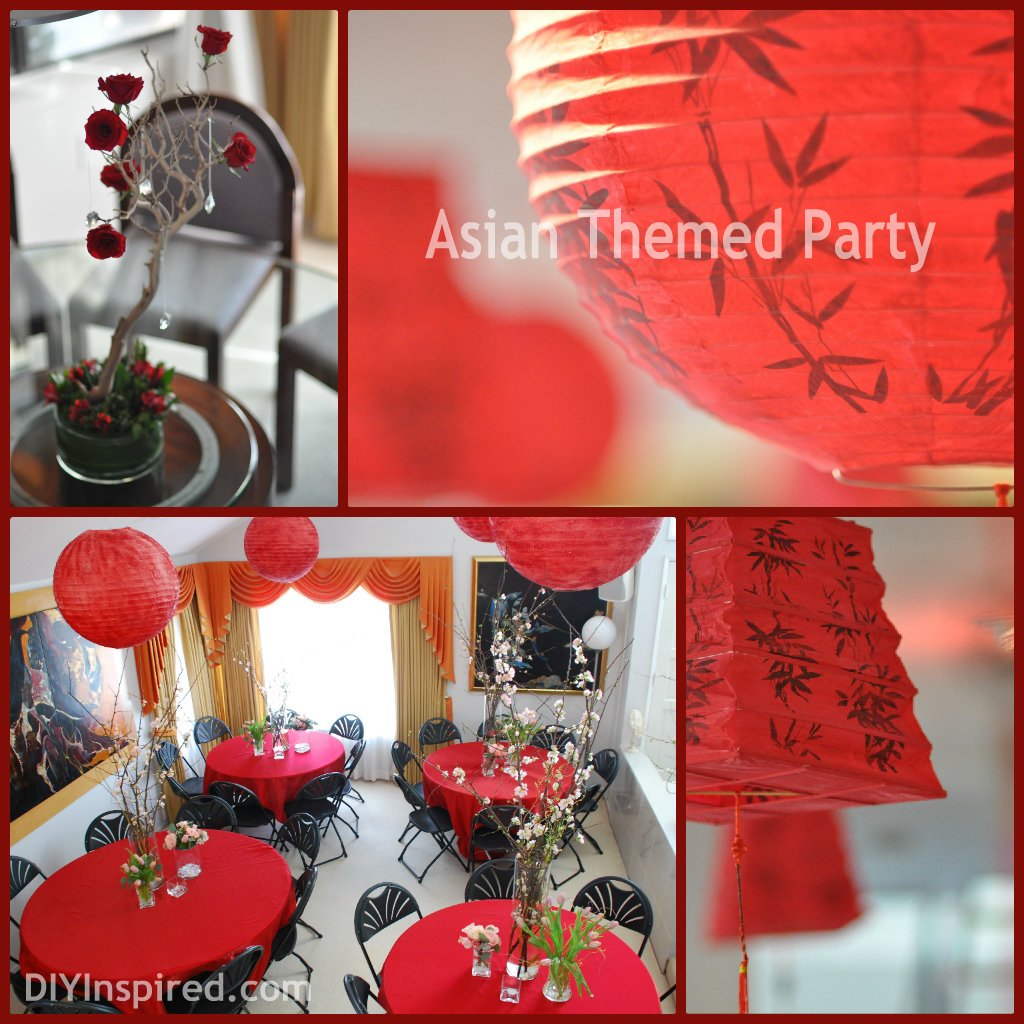Asian Themed Party
