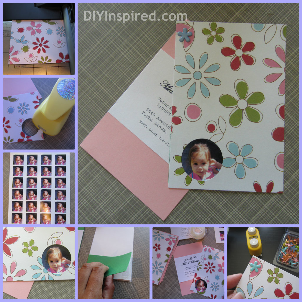 diy birthday invitations  diy inspired