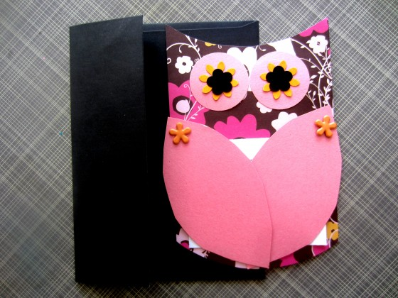 Owl Themed Invitations