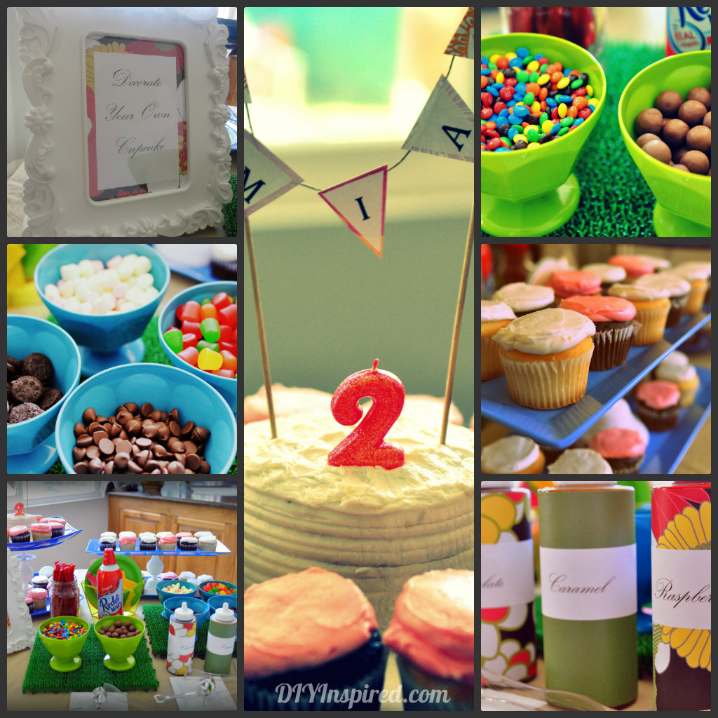 Easy Summer Birthday Party Food and Drink Ideas
