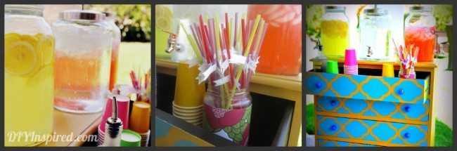 Easy Summer Birthday Party Drink Ideas