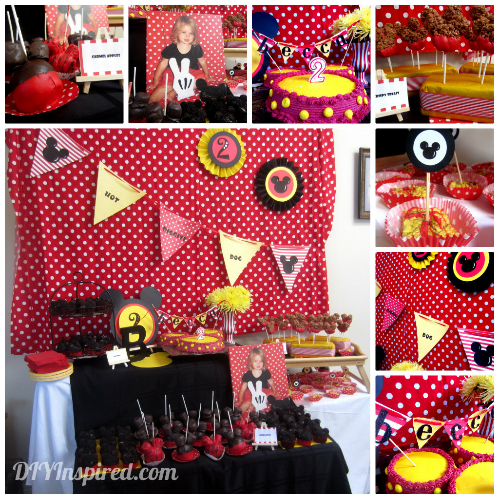 Mickey Mouse Theme Party