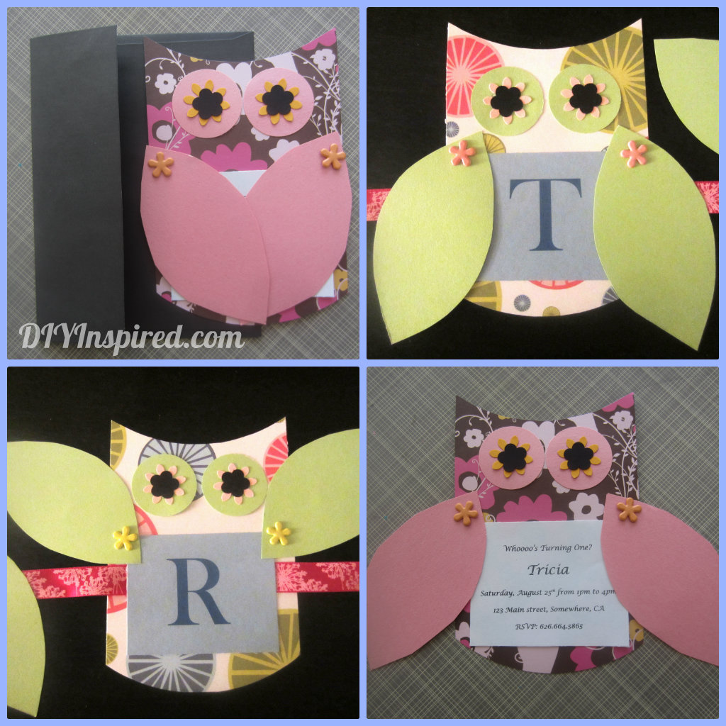 Owl Party Decorations Video Tutorial Diy Inspired