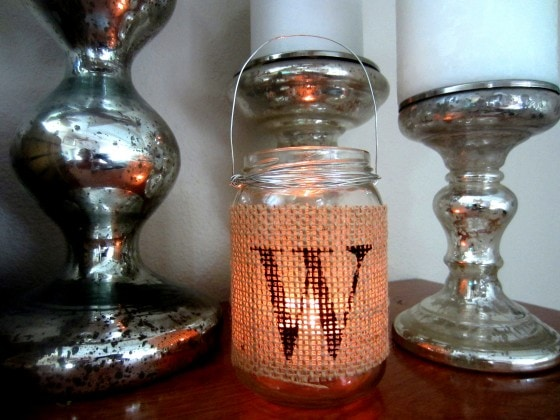DIY Recycled Jar Tea Light