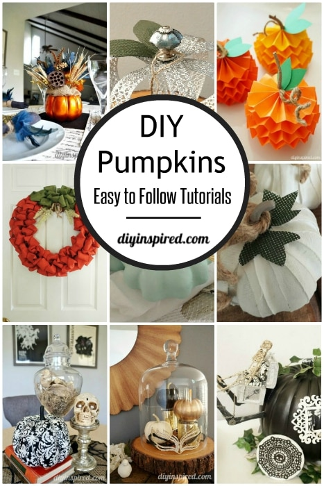 Easy DIY Pumpkin Inspiration Ideas