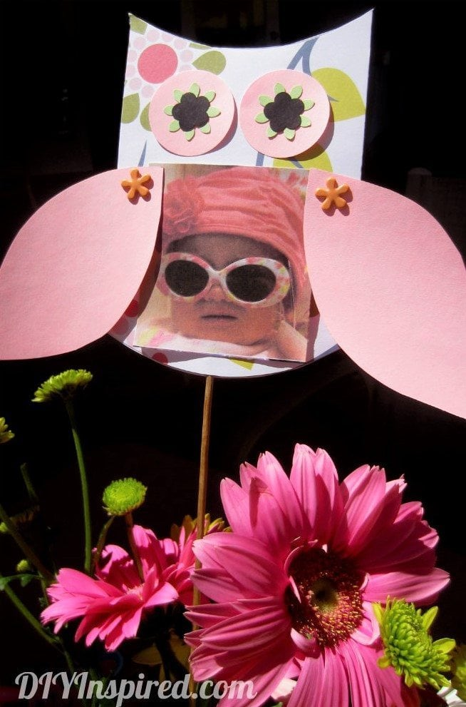 Paper Owl Party Centerpieces with Tutorial