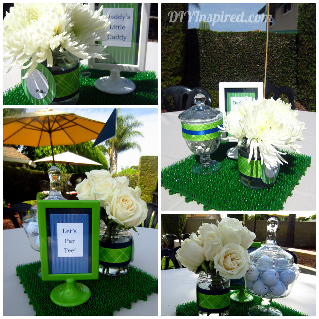 Golf Course Wedding Ideas: Golf Themed Baby Shower