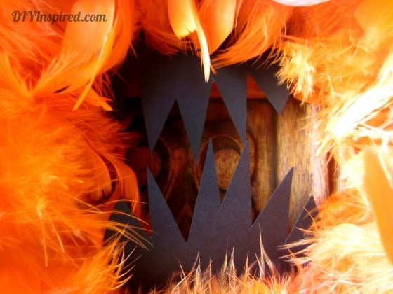Halloween Monster Wreath