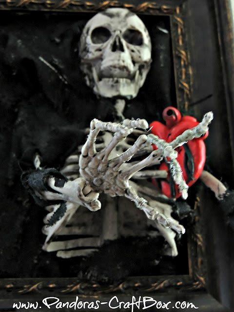 Halloween Skeleton Frame