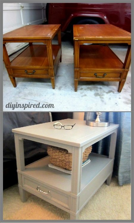 Nightstand Makeover DIY