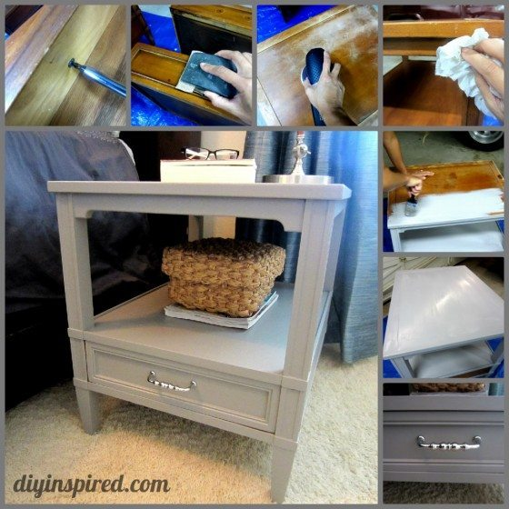 Refurbished Garage Sale Night Stands Instructions