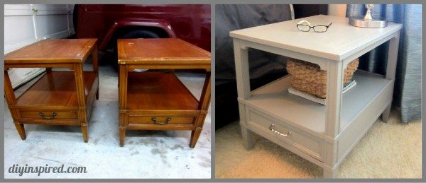 Refurbished Garage Sale Night Stands