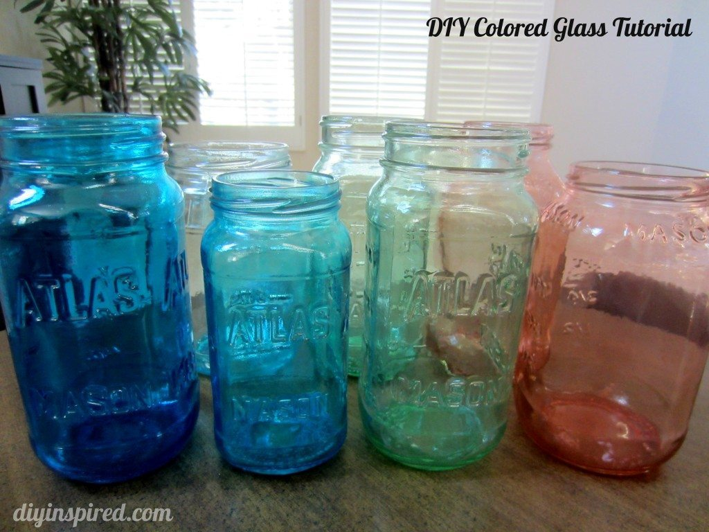 DIY Colored Glass Tutorial