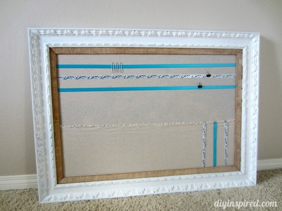 DIY Craft Organization Board