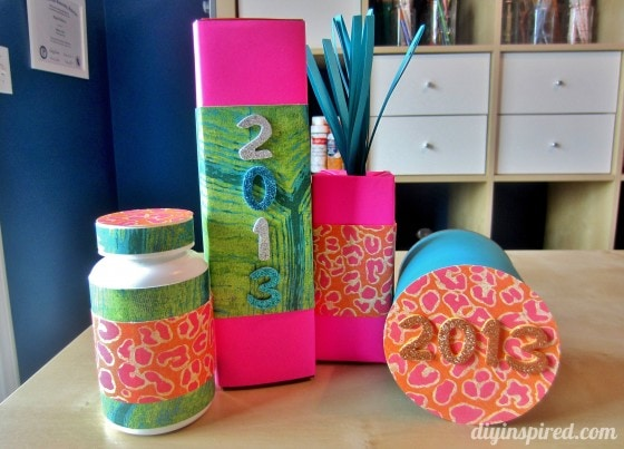 Kids Craft Ideas New Year's Noise Makers