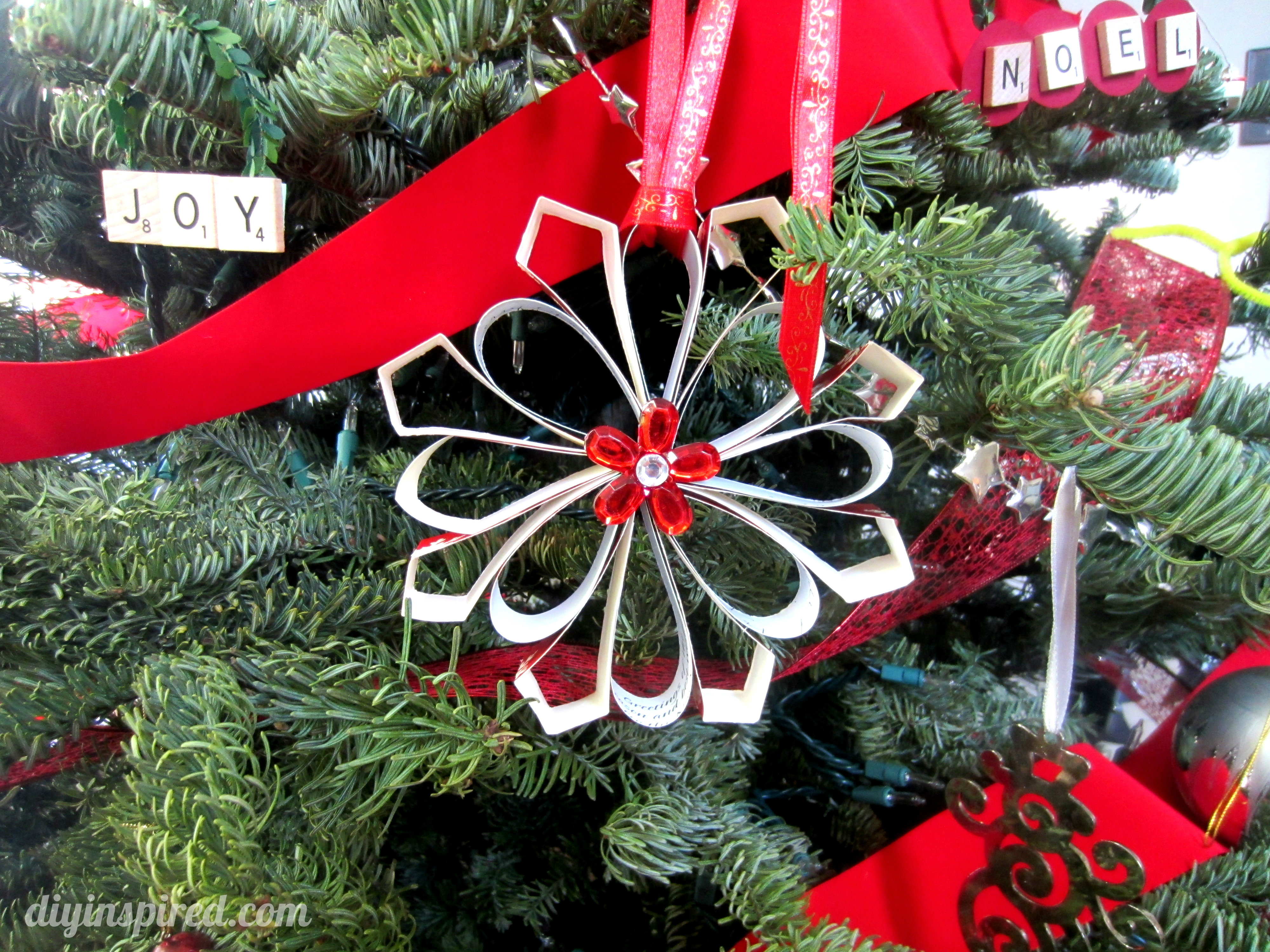 Recycled Christmas Ornaments Ideas.Recycled Christmas Card Ornaments Diy Inspired