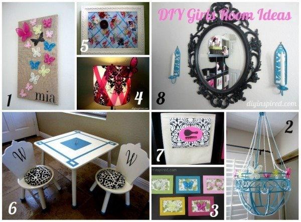 8 DIY Girls Room Ideas