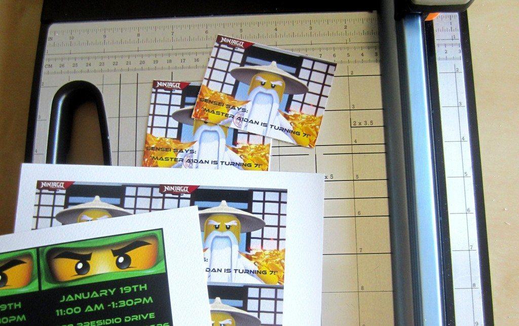 DIY Ninjago Birthday Invitations (3)