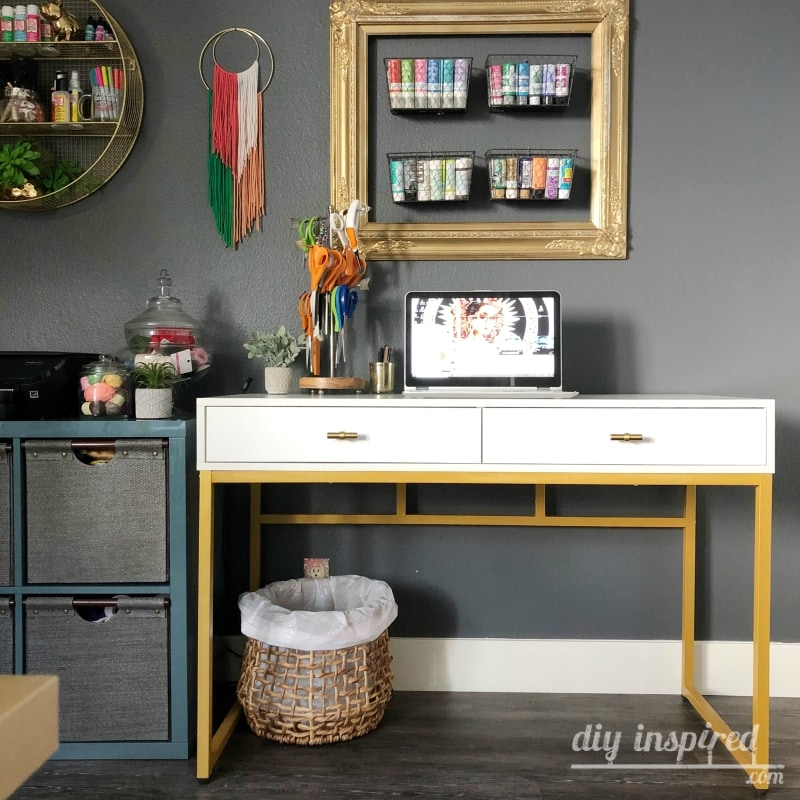 Desk for a Craft Room