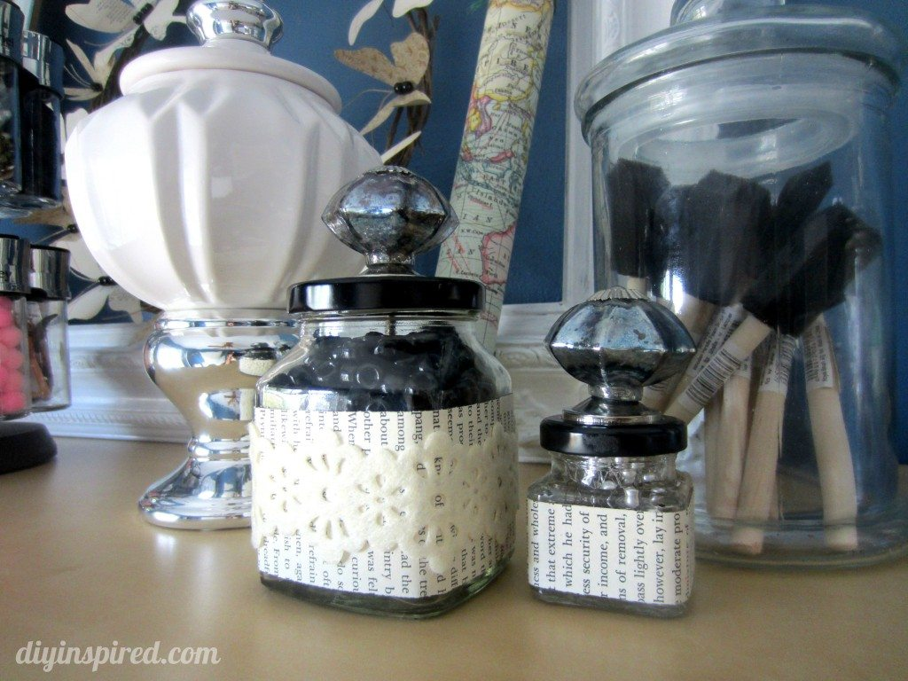 Recycled Craft Jars (9)