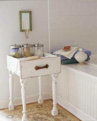 Repurposed Furniture for your Bathroom (1)